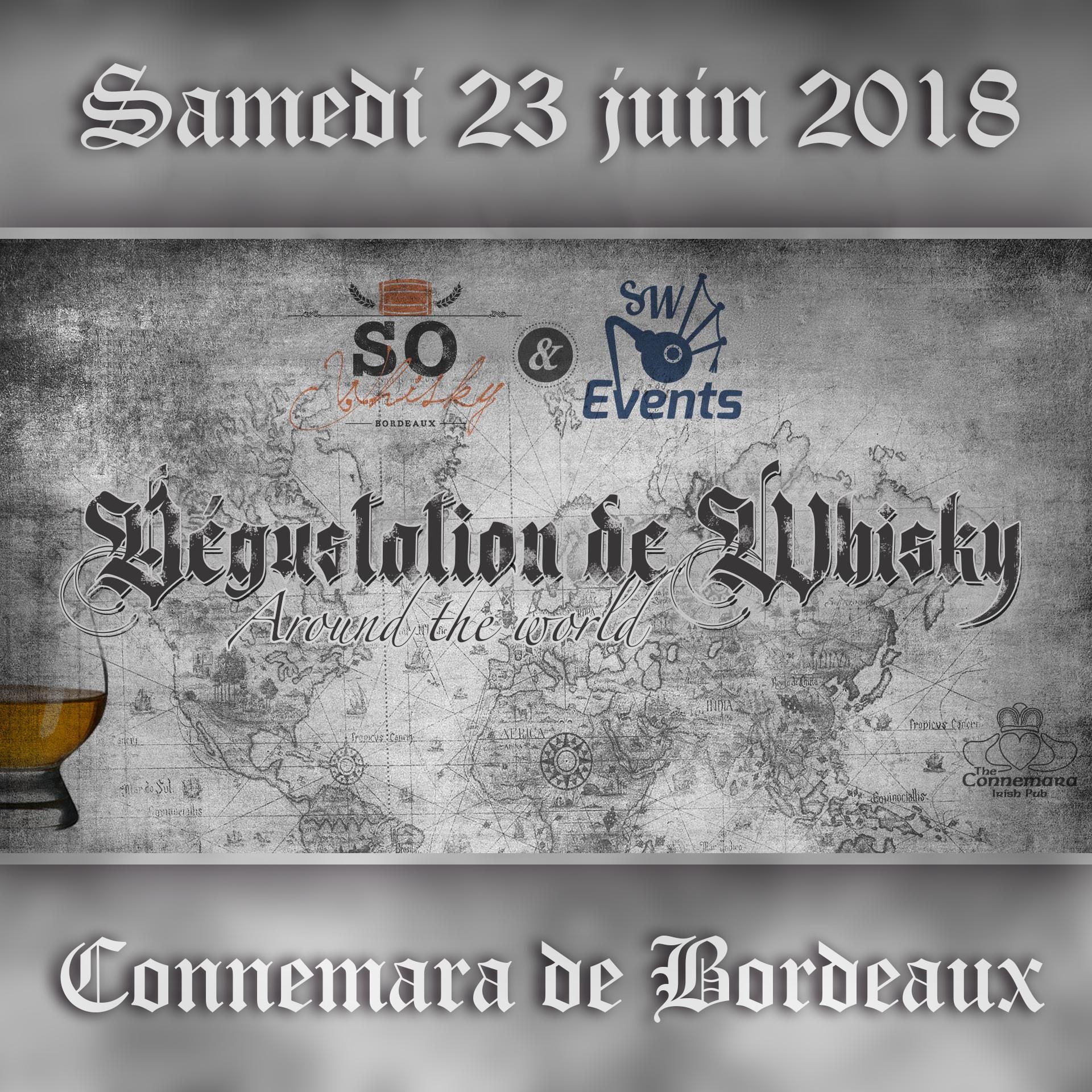 Dégustation Whisky au Connemara en partenariat avec SW Events