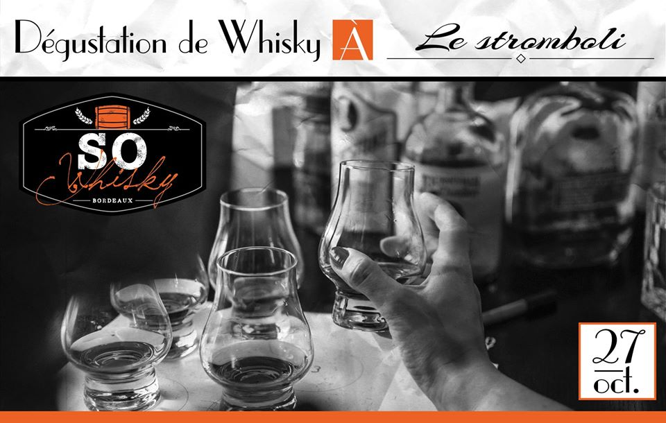 Whiskies du Monde – Le Stromboli 27/10/18